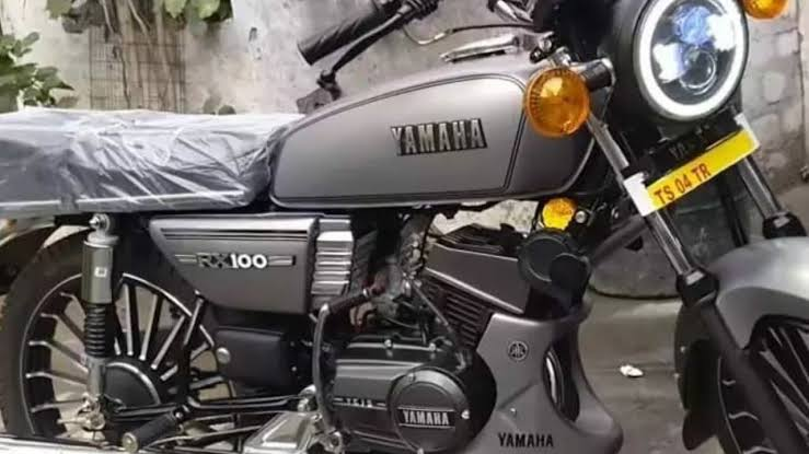 Presenting the New Yamaha Rx 100