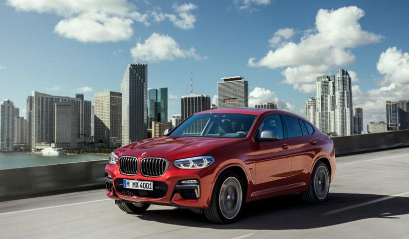 BMW X4: A New Design, a New Feel