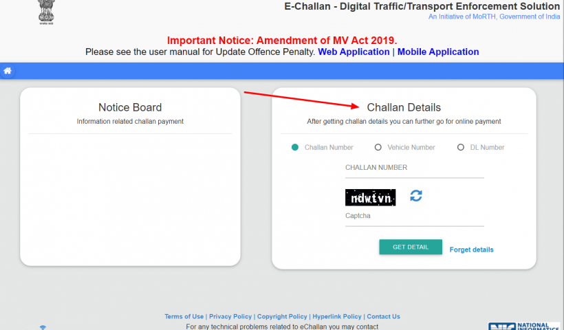 Read This if You Want To Check Your Pending E-Challan
